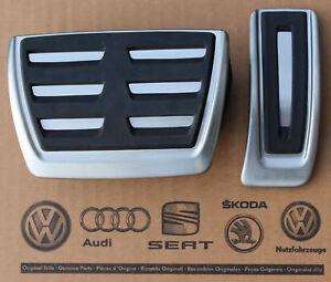 Audi-A4-B9-original-S-Line-Pedalset-Pedale-Pedalkappen-pedal-pads-caps-A5-Q5-Q7