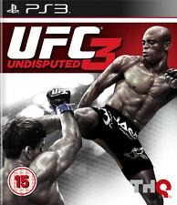 UFC indiscusso 3 ps3 * in ottime condizioni *