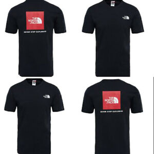 T-shirt-M-M-uomo-THE-NORTH-FACE-Red-Box-Col-TNF-Black-P-E-19