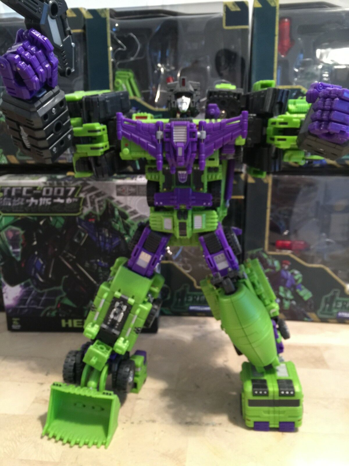 TFC Hercules + Rage of Hercules kit (OFFICIAL (OFFICIAL (OFFICIAL PRODUCT) bc43a7