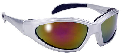 Clear Sunglasses From Makers Of KD /'s Biker Shades Kickstart 2 Padded Chopper
