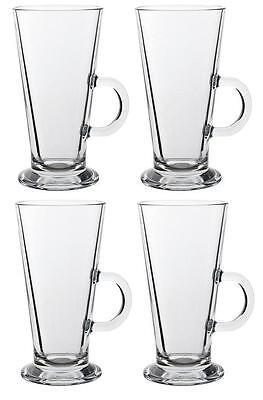LARGE/TALL LATTE TEA COFFEE CUP MUG *Fits Tassimo & Dolce * SET of 2/4/6 GLASS