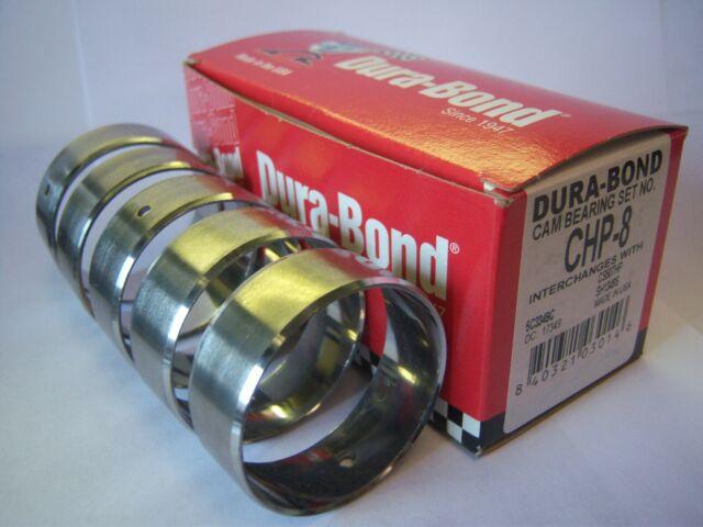 Dura-Bond CHP-8 SBC Performance Cam Bearings Chevrolet Chevy 283 327 350 383 400