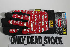 MECHANIX X SUPREME ORIGINAL WORK GLOVES RED M THE NORTH FACE SMALL BLACK MEDIUM