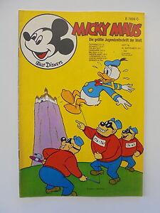 MICKY MAUS Comic // Z 1-2 39  von 1971 Walt Disneys Heft Nr