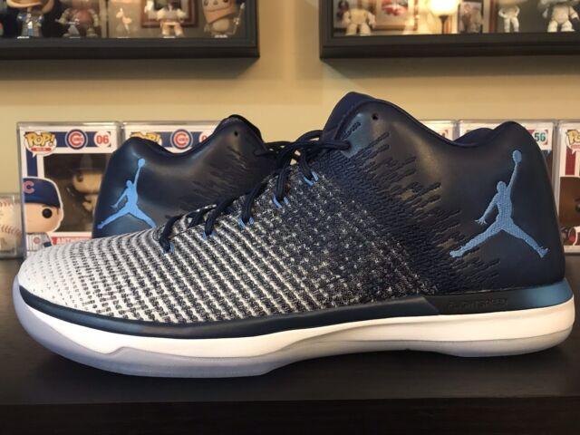 b63468796d9df Nike Air Jordan XXXI Low (31) size 16 Midnight Navy UNC NEW North Carolina  OG