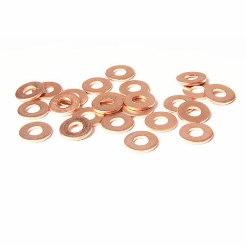 Kupferscheiben Kupferringe Dichtringe Öl Kupfer Unterlegscheiben Dicke 1 1.5 2mm