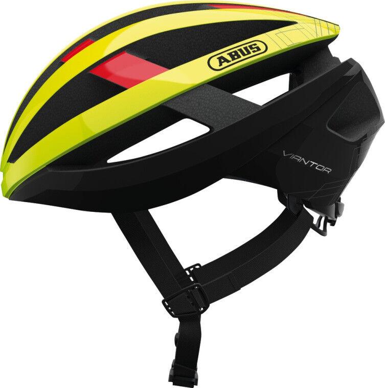 Abus Race Sport Rennrad Fahrradhelm Viantor neon Gelb Gelb Gelb Gr  58-62 cm 44f5d9