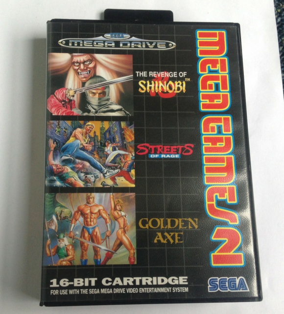 The revenge of SHINOBI, Streets of rage, GoldenAxe, SEGA…