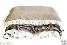 Kinder Bettwäsche-Set  100x135, 40x60 cm 100% Leinen antiallergen Stonewashed