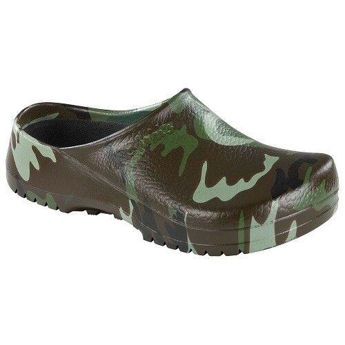 Birkenstock green Super-Birki Birkis Clogs 68681 green Birkenstock camouflage Camping Gr.37 NEU 8a88cb