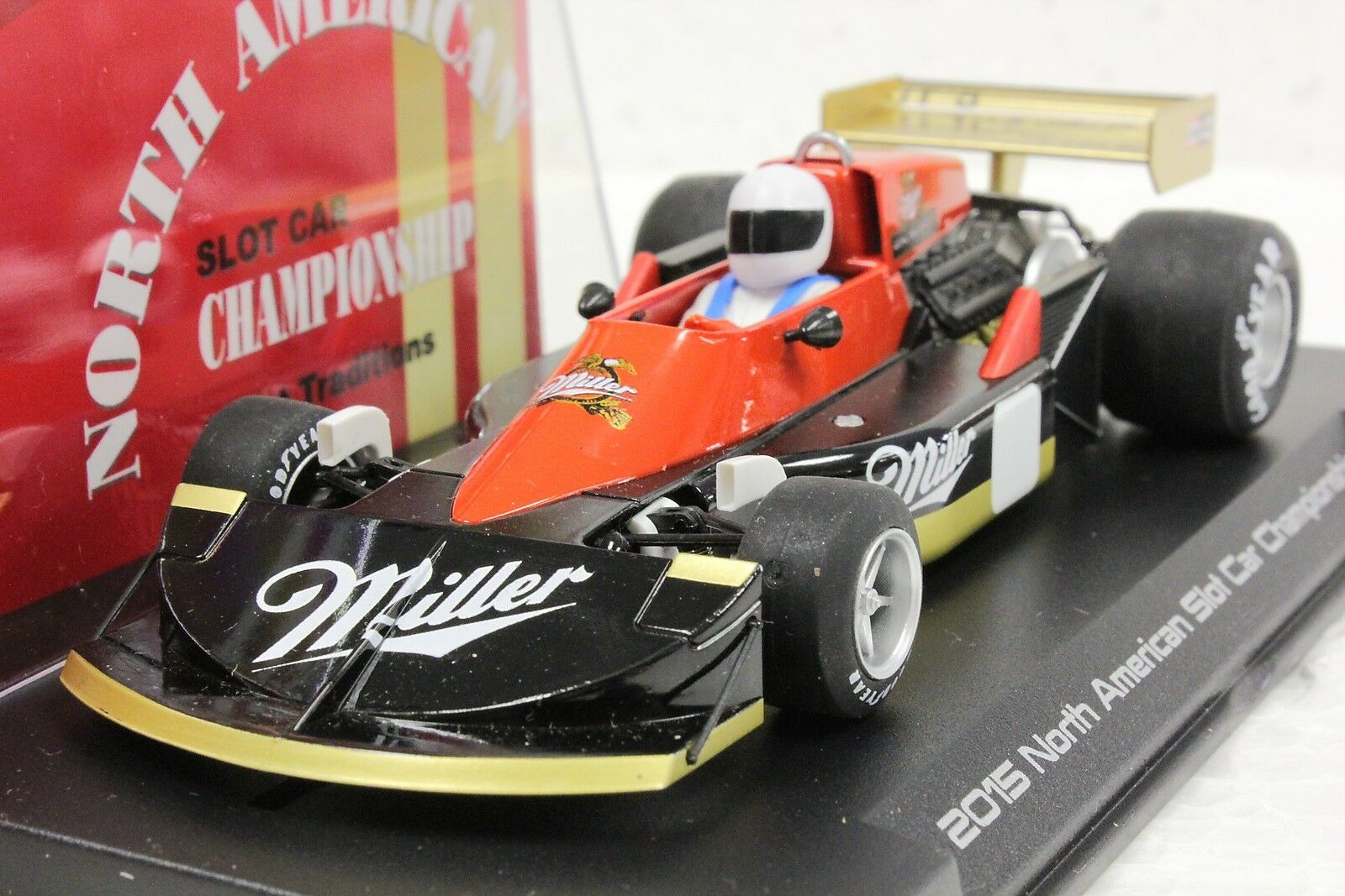 SLOTWINGS W45-02SP Mars 761 Miller American Championship Neuf Fly 1 32 Slot Car