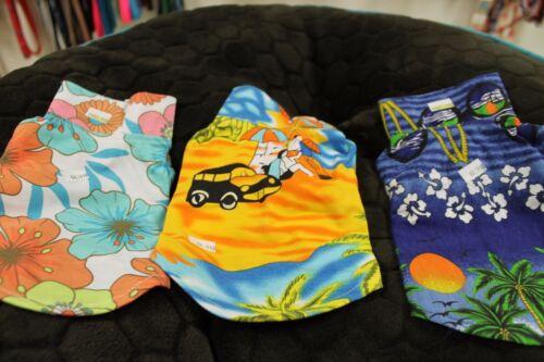 Set of 3 S Small Hawaiian Dog Polo Shirts