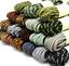 1 pair Outdoor Mountaineer Shoelaces Anti Skid Wear Resistant shoelace rope