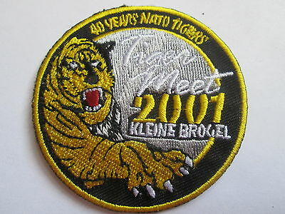Swiss Snow Tiger 2005 Embroidered Iron or Sew On Patch P097