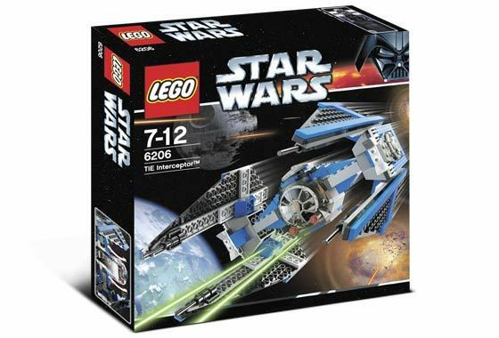 Lego 6206 Star Wars TIE Interceptor  Sealed Box