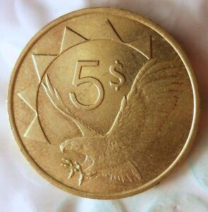 1993-Namibie-5-Dollars-Excellent-Piece-de-Monnaie-Bonne-Affaire-Poubelle-173