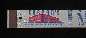 1940s Ten Strike Curran S Laundry Dry Clean Fur Storage