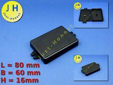 Kunststoff Gehäuse Universal mit Befestigung 84x60x16mm Case Box Enclosure #A43