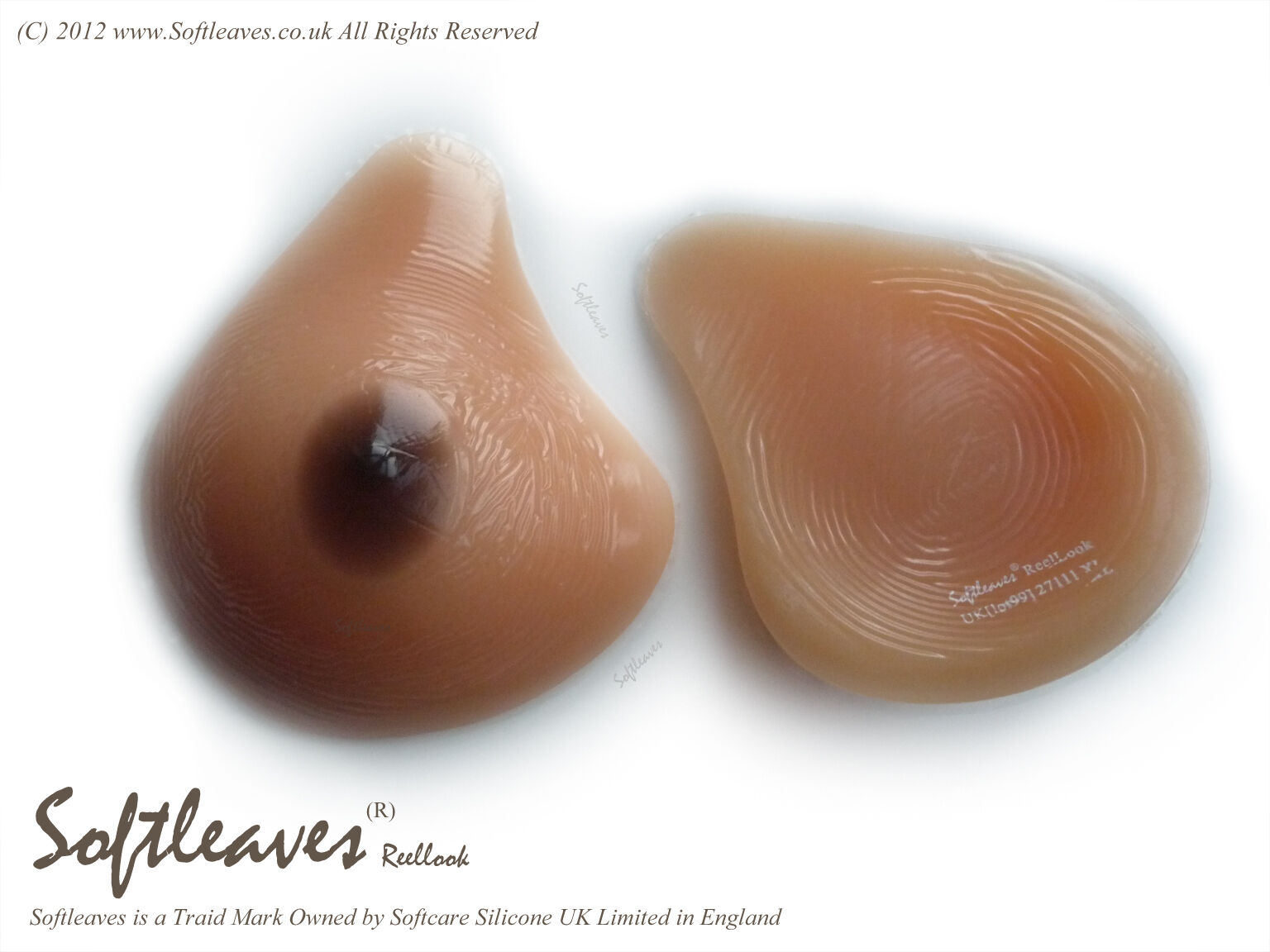 Softleaves ReelLook  Silicone Breast Forms  Not Bra Breast Prosthesis Implants