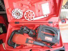 Hilti Dg150 6 Diamond Grinder Professional Kit With2 Blades Combo Amp Used 792