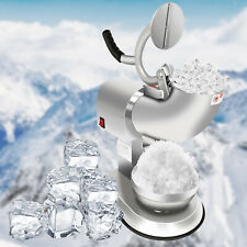 Ice Shaver Machine Electric Snow Cone Maker Stainless Steel Ice Crusher 300w
