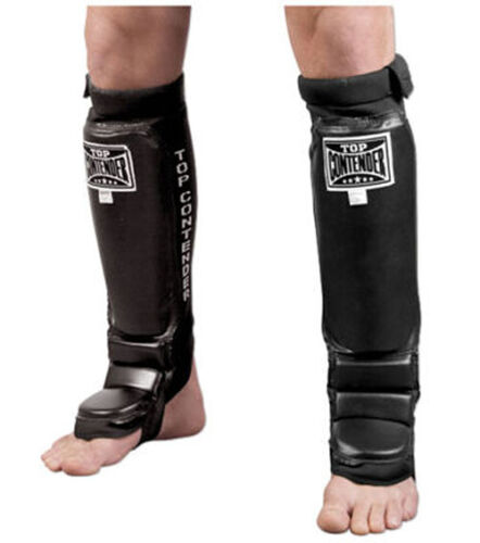 Top Contender MMA Grappling Shin Instep Guards