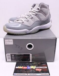 8c821840335 Air Jordan Retro 11 XI Cool Grey Gray White Sneakers Men s Size 11 ...
