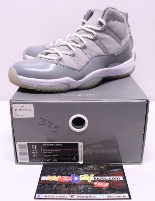 cool grey 11 size 7