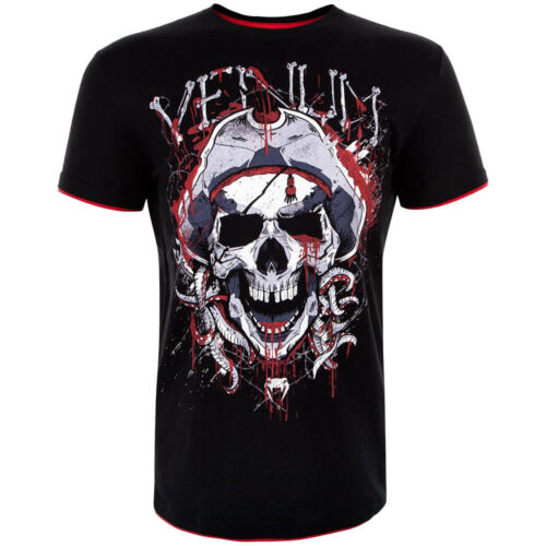 Venum T-Shirt Pirate 3.0 black schwarz S M L XL 2XL MMA Muay Thai BJJ Boxen Gym