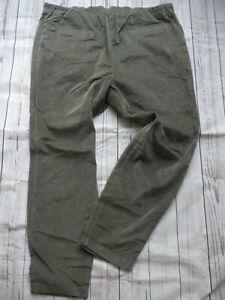 Sheego-Trousers-Velvet-Ladies-Size-44-to-58-plus-Elastic-Band-850