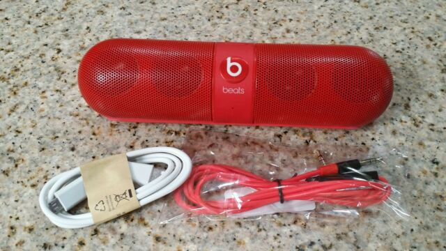 Beats by Dr Dre Pill 2.0 speaker wireless Bluetooth Red color .
