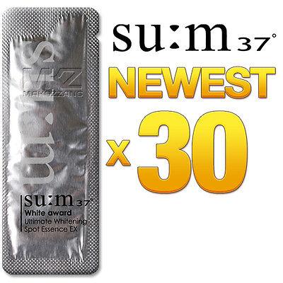 SU:M37 White Award Ultimate Whitening Spot Essence EX Lightening SUM37 Upgraded