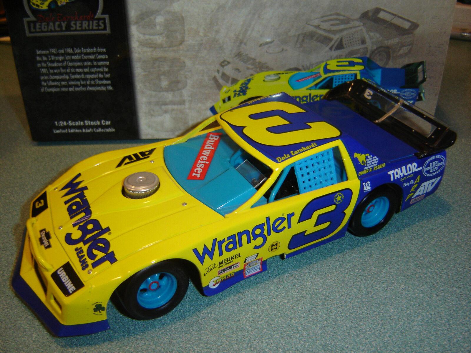 Dale Earnhardt  3 Wrangler Jeans Hors-La-Loi 1985 Lt Mdl Camaro 1 24 Action