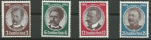 German-Reich-Minr-540-543-Mint-No-540-With-Stockfleckchen