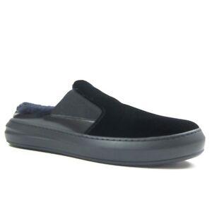 Black Backless Slip-on Shoes US 7.5 D
