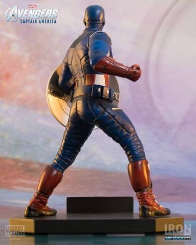 The Avengers Captain America Art échelle 1//10 MARVEL-IRON Studios-OLD STOCK!
