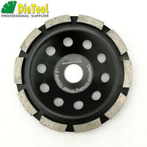 "4.5/"" SINGLE ROW DIAMOND CUP WHEEL FITS ANGLE GRINDER"