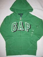 BABY GAP Boys Logo Green Hoodie Sweatshirt Sz 18-24m NWT