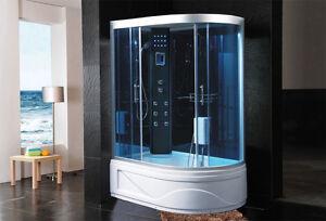 Cabina doccia idromassaggio vasca sauna arredo bagno for Arredo bagno doccia