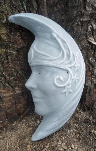 Moon face mold concrete plaster casting mould