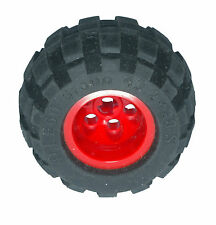 Missing Lego Brick 6579 6579 Black Tyre 43.2 x 28 Balloon Small & 6580 Red Wheel