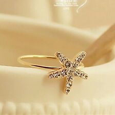 #9098 Women's Fashion Exquisite Stars Opening Ring