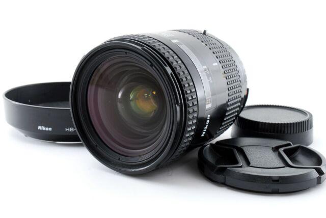 [exc5] Nikon AF Nikkor 28-85mm f3.5-4.5 Zoom Objektiv mit Kapuze hb-1 aus Japan #a037