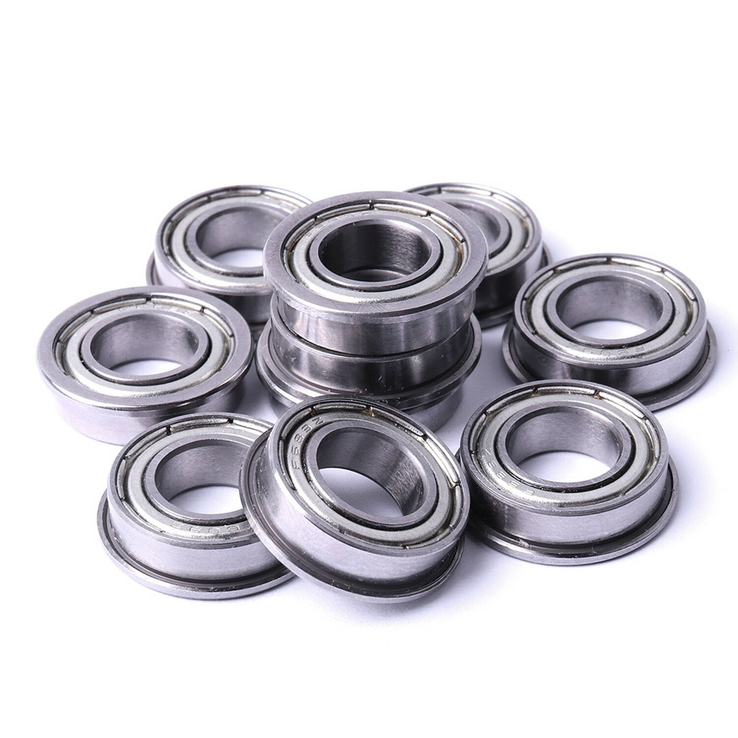 Carbon Steel Rolleri Machine Mexico: 10pcs V623/ 603ZZ 5x16x5mm Metal V Groove Guide Pulley