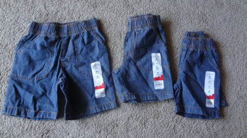 JUMPING BEANS Blue Jeans Garçons Shorts Taille 4 T /& 2 T Choisir Un 3 t