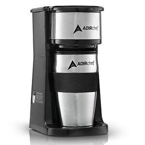 AdirChef-Grab-N-039-Go-Personal-Coffee-Maker-with-15-oz-Travel-Mug-Black-Stainless