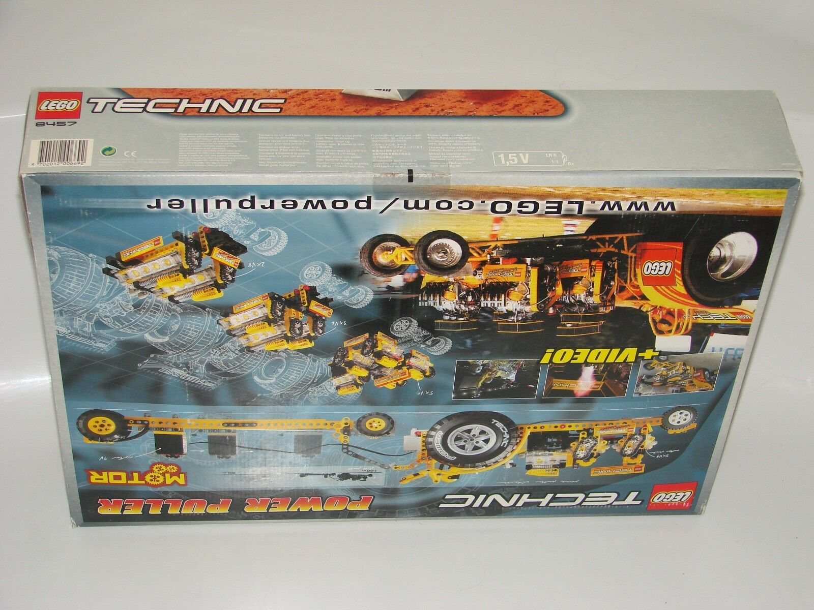 LEGO® TECHNIC TECHNIC TECHNIC 8457 Power Puller Neu OVP _New MISB NRFB box condition s pictures 642ab0