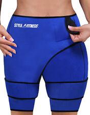 "Slimming Sauna Shorts Unisex Waist 28""- 48"" Sweat Reduce Shed Body Weight Water"