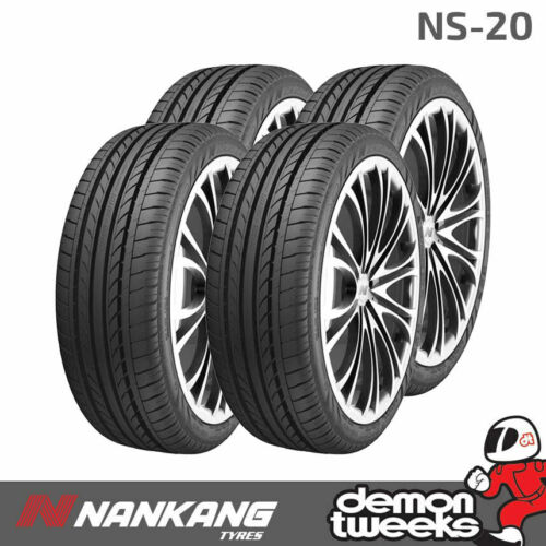 4 x Nankang NS-20 prestazioni su strada pneumatici 225 40 R18 92W XL 2254018 EXTRA CARICA